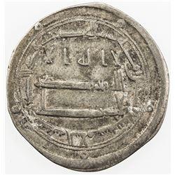 ABBASID: al-Hadi, 785-786, AR dirham (2.70g), Madinat al-Salam, AH169. VF