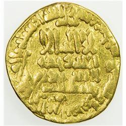 ABBASID: al-Ma'mun, 810-833, AV dinar (3.98g), NM (Egypt), AH198. F