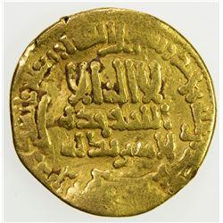 AGHLABID: 'Abd Allah I, 811-816, AV dinar (3.98g), NM, AH197. VG