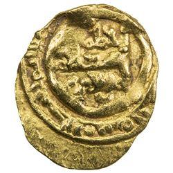 FATIMID: al-Mustansir, 1036-1094, AV 1/4 dinar (0.74g). VF