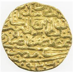 OTTOMAN EMPIRE: Suleyman I, 1520-1566, AV sultani (3.43g), Misr, AH926. VF