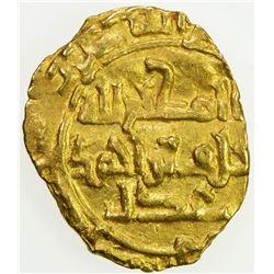 SAFFARID: Khalaf b. Ahmad, 963-964, AV fractional dinar (0.82g), Sijistan, DM. VF-EF