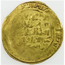 GHORID: Mu'izz al-Din Muhammad, 1171-1206, AV dinar (2.31g), MM, DM. VF