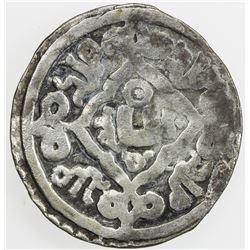 CHAGHATAYID KHANS: Alughu, 1261-1266, AR dirham (2.20g), Kuja (Kucha), AH662. F