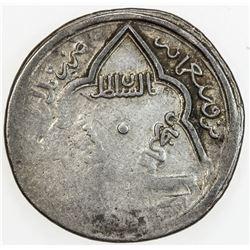 ILKHAN: Abu Sa'id, 1316-1335, AR 2 dirhams (1.52g), Pol-i Aras, AH72x. VF