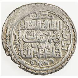 ILKHAN: Abu Sa'id, 1316-1335, AR 6 dirhams (8.50g), Bazar, Khani 33, type H, ef