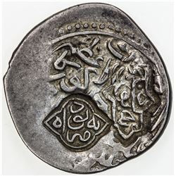 TIMURID: Badi' al-Zaman, rebel at Balkh, 1499-1502, AR tanka (4.69g), Balkh, ND