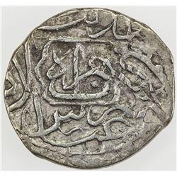 SAFAVID: 'Abbas I, 1588-1629, AR shahi (1.95g), Herat, ND. VF