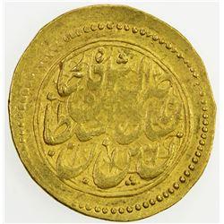 QAJAR: Nasir al-Din Shah, 1848-1896, AV toman (3.42g), Tehran, AH1277. F
