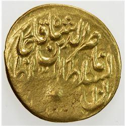 QAJAR: Nasir al-Din Shah, 1848-1896, AV toman (3.42g), Tabaristan, AH1280