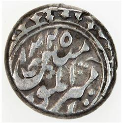 MANGHIT OF BUKHARA: Haidar, 1800-1826, AR tenga (3.18g), NM, AH1225//1225. VF