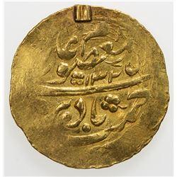 MANGHIT OF BUKHARA: 'Abd al-Ahad, 1886-1910, AV tilla (4.56g), Bukhara-yi sh