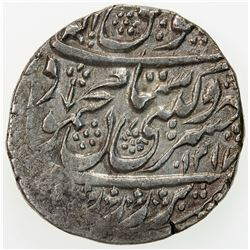DURRANI: Mahmud Shah, 1st reign, 1801-1803, AR rupee (10.86g), Kashmir, AH1217 year 2. VF-EF