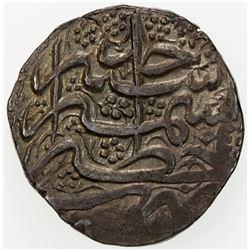 DURRANI: Ayyub Shah, 1817-1829, AR rupee (11.06g), Kashmir, AH1234 year one (ahad). EF-AU