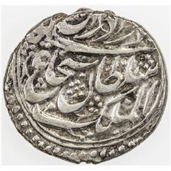 DURRANI: Shah Shuja', 1839-1842, AR rupee (9.39g), Kabul, AH1255. VF-EF