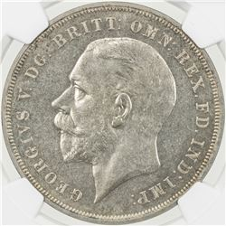 GREAT BRITAIN: George V, 1910-1936, AR crown, 1935. SP