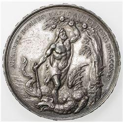 GREECE: AR medal, 1690. EF