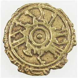 SICILY: Roger II, 1105-1154, AV tari (1.03g), Madinat Siqilliya, AH5xx. VF