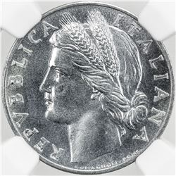 ITALY: Republic, 1 lira, 1950-R
