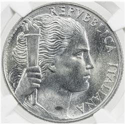 ITALY: Republic, 5 lire, 1949-R