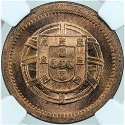 PORTUGAL: AE 5 centavos, 1921