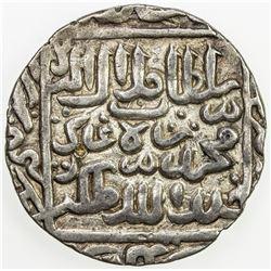 BENGAL: Jalal Shah, 1560-1563, AR rupee (11.29g), Satgaon, AH[968]. EF