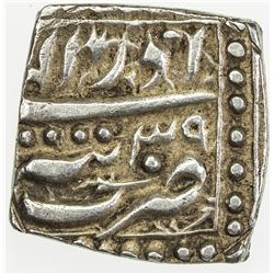 MUGHAL: Akbar I, 1556-1605, AR square rupee (11.30g), Tatta, IE39. EF