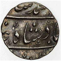 MUGHAL: Muhammad Shah, 1719-1748, AR 1/2 rupee (5.79g), Ahmadabad, year 26. EF