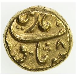 MUGHAL: Muhammad Shah, 1719-1748, AV pagoda (3.31g), Im