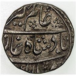 MUGHAL: Alamgir II, 1754-1759, AR rupee (11.31g), Mahindrapur, year 3. EF