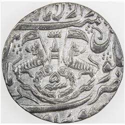 AWADH: Ghazi al-Din Haidar, 1819-1827, AR rupee (11.06g), Lucknow, AH1234 year 5. EF
