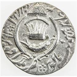 AWADH: Amjad Ali Shah, 1842-1847, AR rupee (11.13g), Lucknow, AH1261 year 3. EF