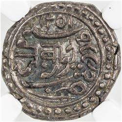 JUNAGADH: Bahadur Khan, 1811-1840, AR kori, Junagadh, AH1251/VS1892. NGC MS63