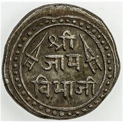 NAWANAGAR: Vibhaji, 1852-1894, AR kori, VS1935 (1878). EF