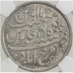 BENGAL PRESIDENCY: AR rupee, Farrukhabad, year 45. NGC MS63