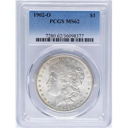 1902-O $1 Morgan Silver Dollar Coin PCGS MS62