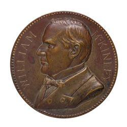 Large 1901 William McKinley Commemorative Medal
