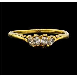 14KT Yellow Gold 0.40 ctw Diamond Ring