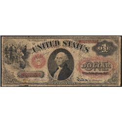 1874 $1 Legal Tender Note