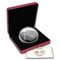 2015 $125 Canada Half Kilo Fine Silver Coin w/Box & COA
