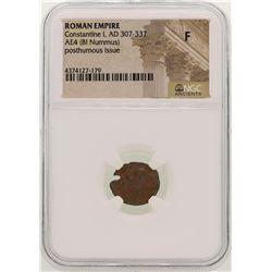 Constantine l 307-337 AD Ancient Roman Empire Coin NGC F