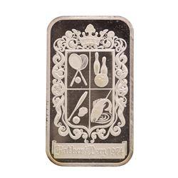 1974 Fathers Day Madison Mint 1 oz .999 Fine Silver Art Bar