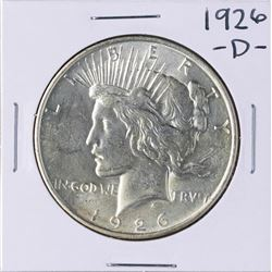 1926-D $1 Peace Silver Dollar Coin