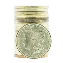 Roll of (20) 1896 $1 Brilliant Uncirculated Morgan Silver Dollar Coins