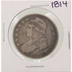 1814 Capped Bust Half Dollar Coin