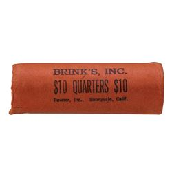 Roll of (40) 1962-D Brilliant Uncirculated Washington Quarters