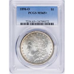 1898-O $1 Morgan Silver Dollar Coin PCGS MS65+