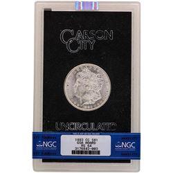 1883-CC $1 Morgan Silver Dollar Uncirculated Coin GSA NGC MS64