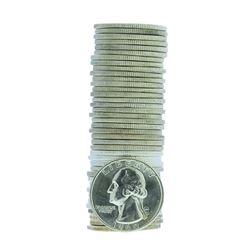 Roll of (40) 1960 Brilliant Uncirculated Washington Quarter Coins