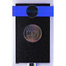 1884-CC $1 Morgan Silver Dollar Coin GSA NGC MS65 AMAZING Toning